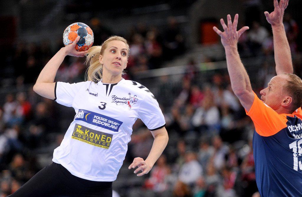 2019.04.10 Gliwice Pilka reczna Mecz Handball Legends N/z Foto Rafal Rusek / PressFocus