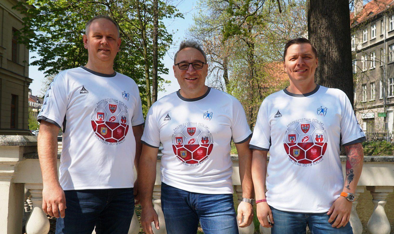 Organizatorzy MP Masters 2019 - od lewej: Jarosław Łuczak (Prezes Zarządu KPR Szczypiorno Kalisz), Stanisław Kubiak (KPR Szczypiorno), Jakub Kubisiak (KPR Szczypiorno)