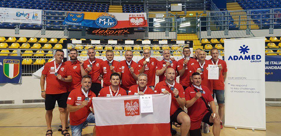 MHT Pabianice wicemistrzem Europy Masters Games