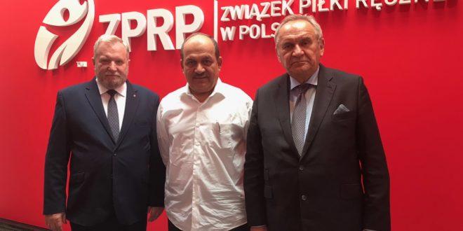 Prezydent Federacji Piłki Ręcznej ZEA w ZPRP