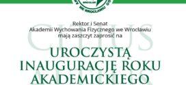 Tytuł Doktora Honoris Causa AWF Wrocław dla Prezesa  Kraśnickiego