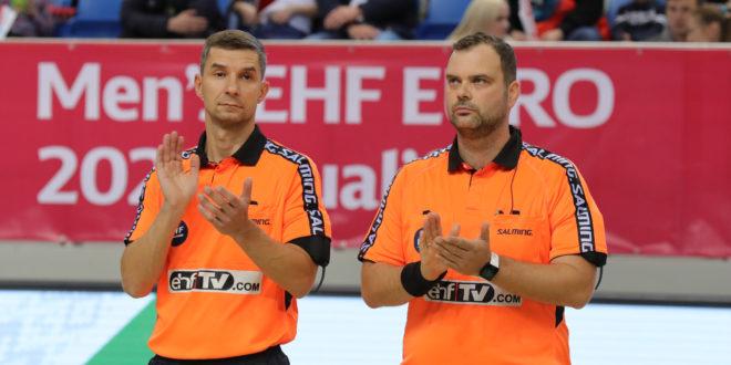 Leszczyński-Piechota w Pucharze EHF