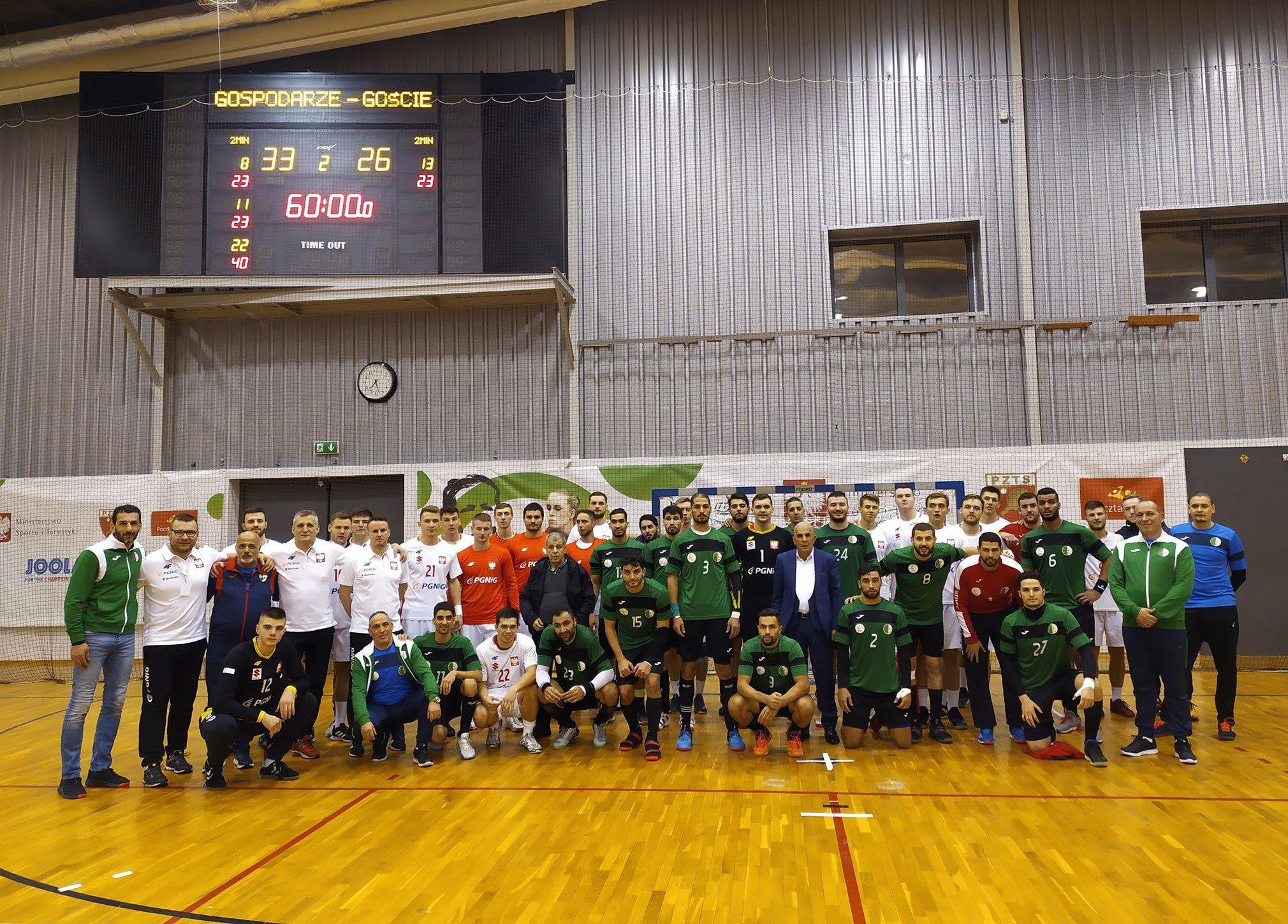 Polska B zwyciężyła Algierię