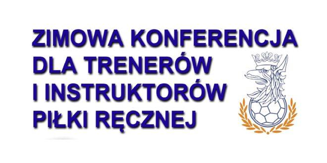 Konferencja szkoleniowa dla trenerów i instruktorów