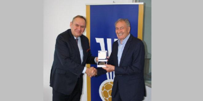 Andrzej Kraśnicki spotkał się z dr Hassanem Moustafą