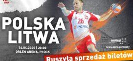 Rozpoczęła się sprzedaż biletów na mecz Polska – Litwa