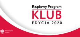 """Wsparcie pracy trenerów w ramach Rządowego Programu """"KLUB"""""""