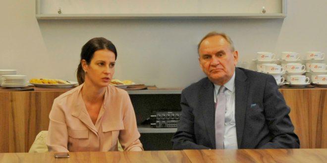 Minister Sportu z wizytą w biurze ZPRP