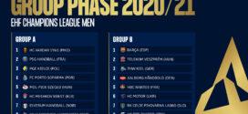 Wyniki losowania fazy grupowej EHF Champions League