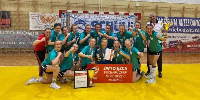 UKS Bukowia Buk zdobywa Puchar ZPRP Młodziczek