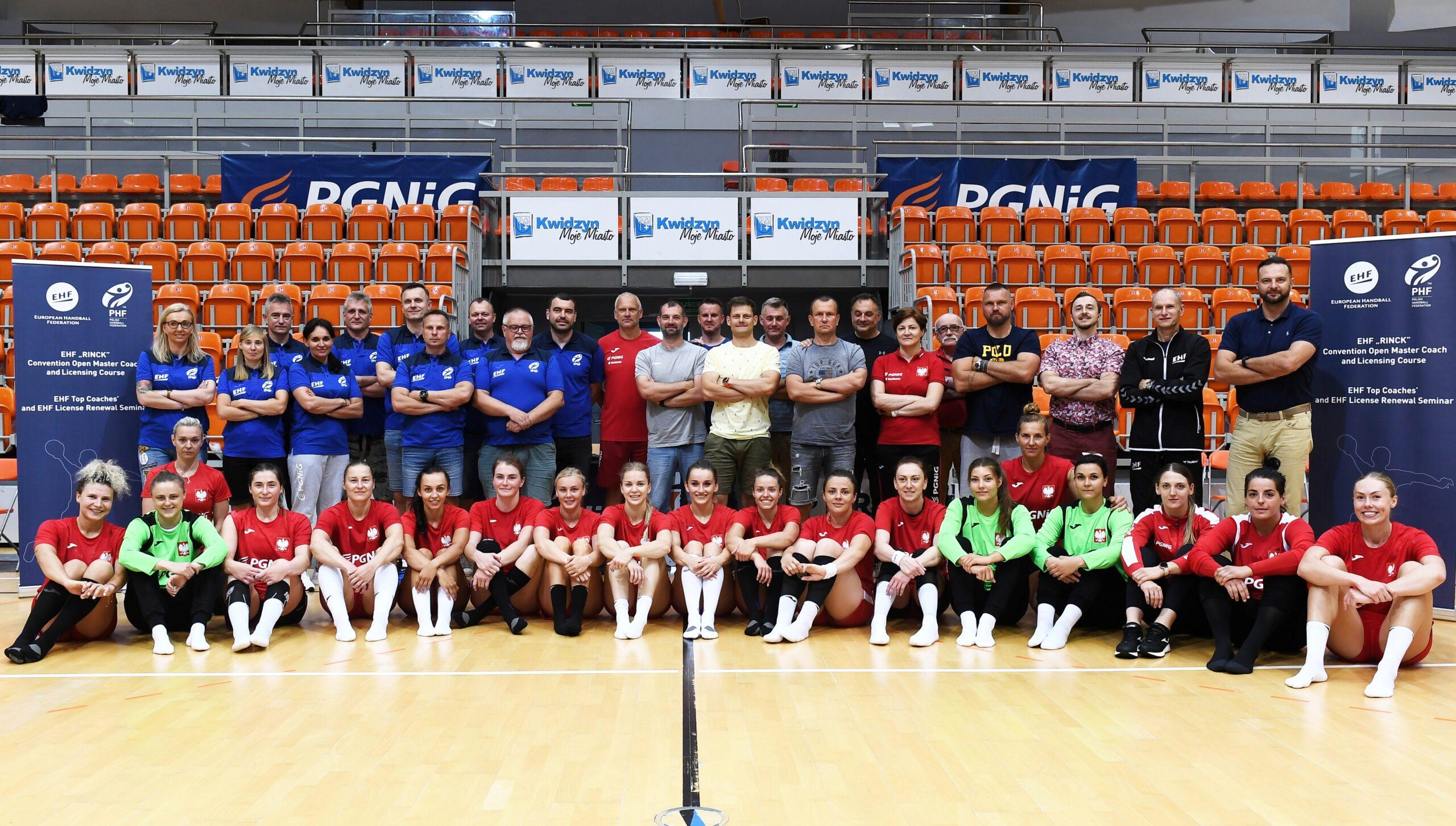 Kursokonferencja trenerów EHF Master Coach w Kwidzynie