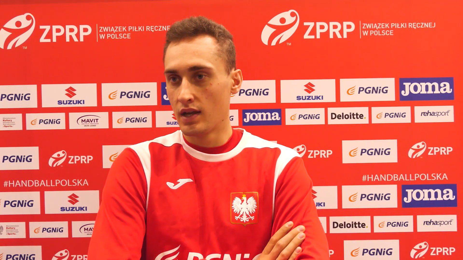 Adam Morawski przed spotkaniem ze Słowenią