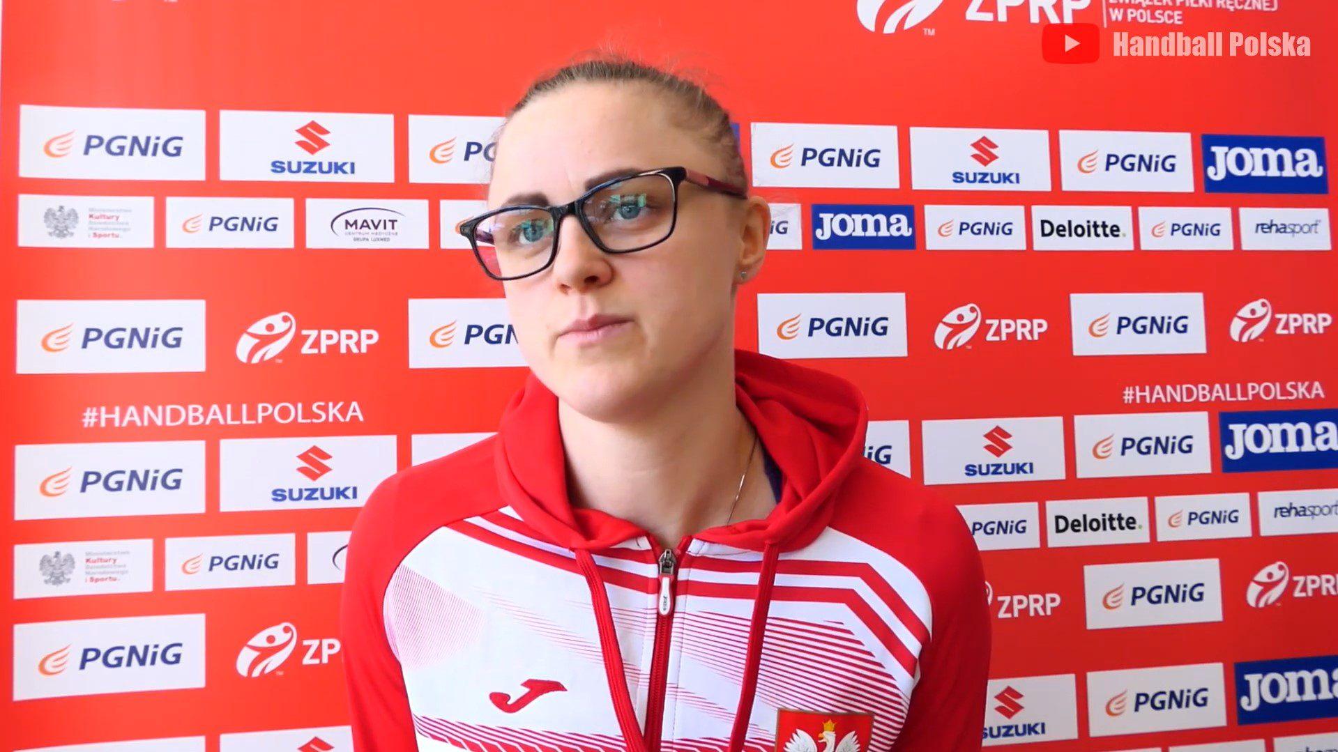 Adrianna Płaczek przed rewanżem z Austrią