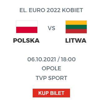 Polska – Litwa 6 października 18:00 Opole