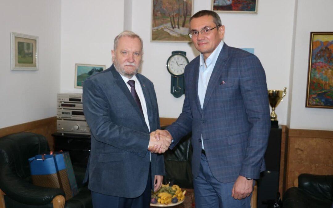 Prezes ZPRP z wizytą w Ukraińskiej Federacji