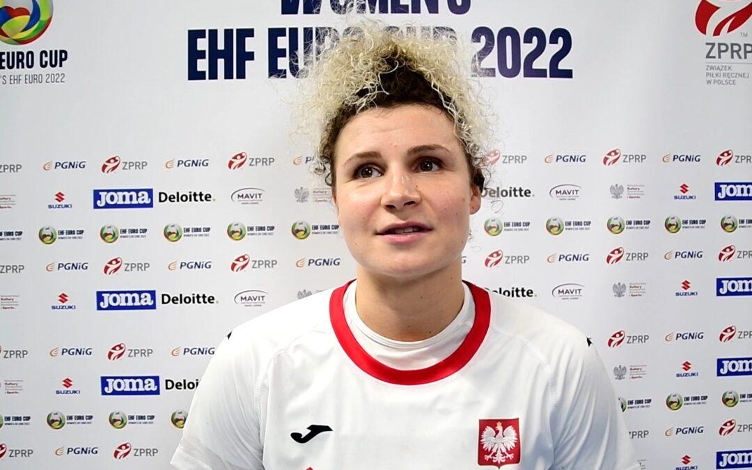 Sylwia Matuszczyk po meczu z Litwą